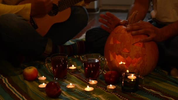Halloween party for two