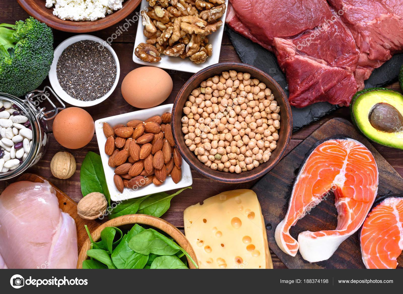 Различные источники белка здоровой диете таких рыба мясо молочная.