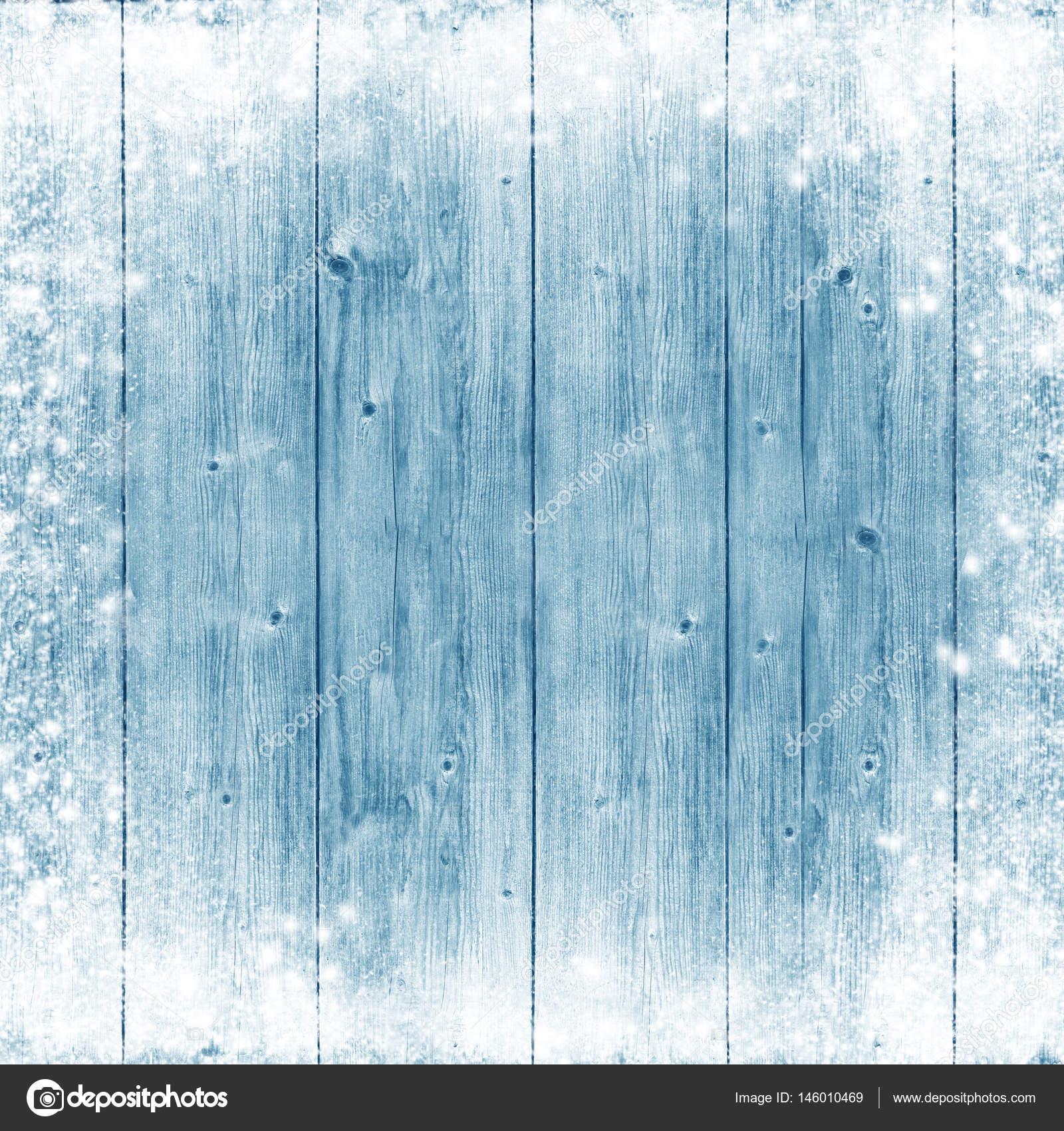 Texture bois bleu glace et neige fond de no l for Fond ecran jul
