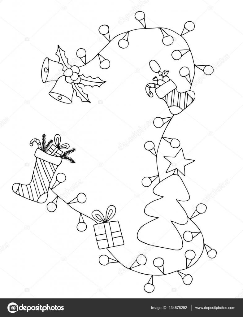 【Imprimable】 Joyeux Noel Et Bonne Année Coloriage