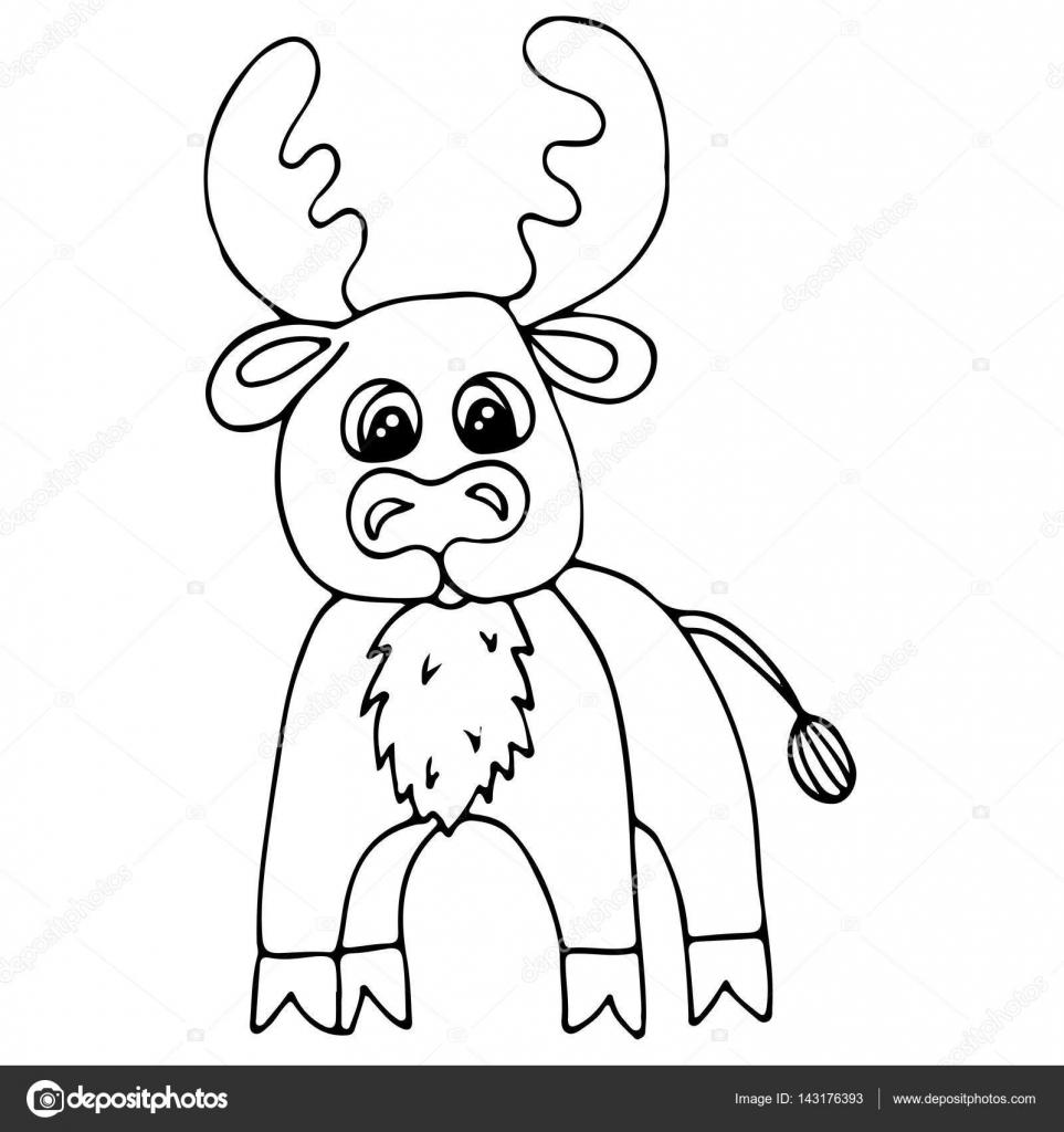 Lindo ciervo aislado sobre fondo blanco — Archivo Imágenes ...