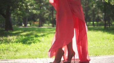 d5e1351cbd0e77 Portret van een meisje met Oost-uiterlijk. mooi jong meisje in de rode jurk