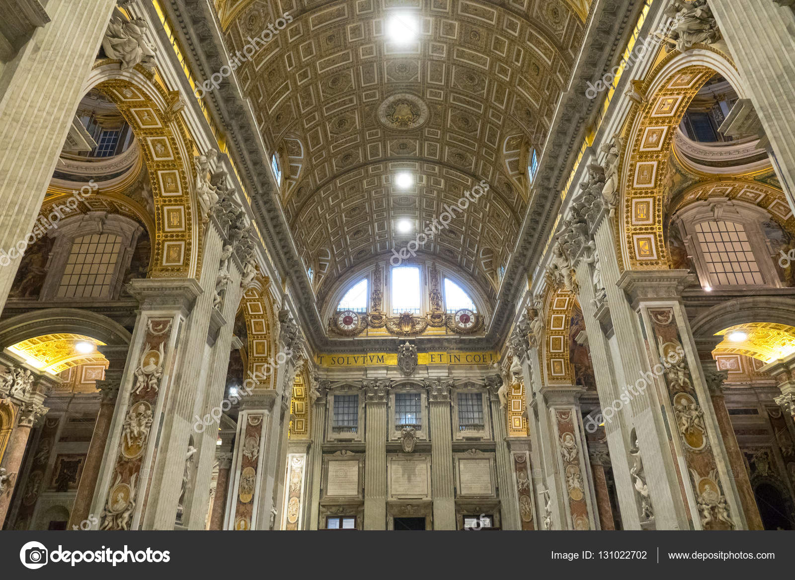 Wonderful St Peters Basilica in Rome - the most important