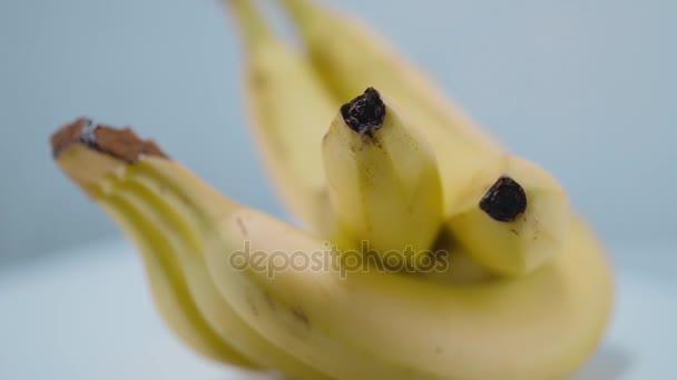 Healthy fruits - fresh bananas