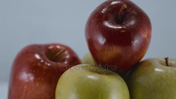 Healthy fruits - fresh apples