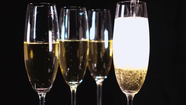 Gläser Champagner oder Sekt