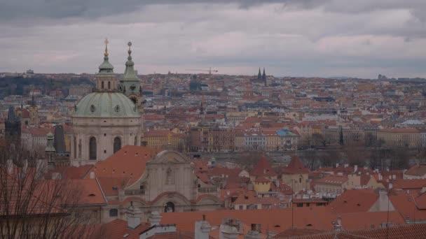 Praha / Česká republika - 19. března 2017: krásné budovy v Praze city