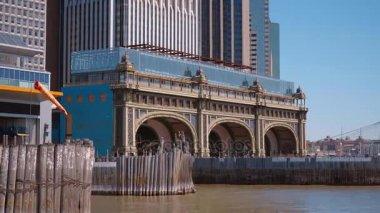 Staten Island Ferry Terminal in Manhattan New York