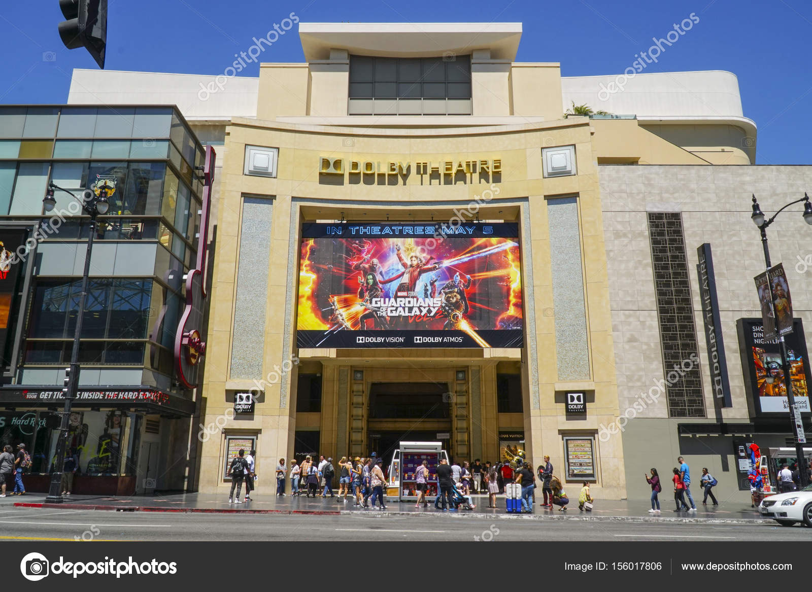 The Dolby Theater At Hollywood Boulevard