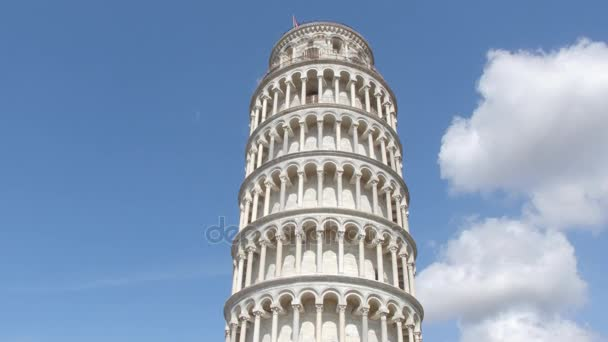 Most famous tourist attraction in Pisa - The Leaning Tower - Tuscany