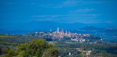 Small village in the Tuscany - San Gimignano