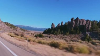 Road to Bryce Canyon National Park in Utah
