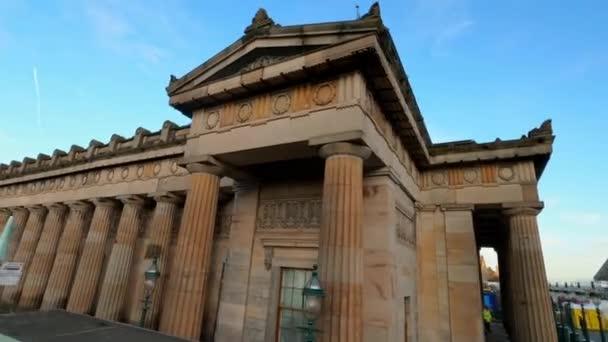 The Royal Scottish Academy in Edinburgh - EDINBURGH , SCOTLAND - JANUARY 11, 2020