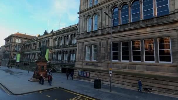 National Museum of Scotland in Edinburgh - EDINBURGH , SCOTLAND - JANUARY 11, 2020