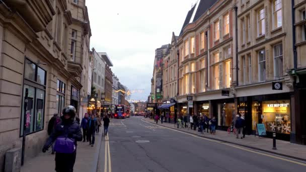 Cityscapes of Oxford in England - OXFORD, UNITED KINGDOM - JANUARY 3, 2020