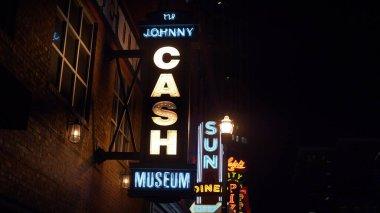 Johnny Cash museum in Nashville - NASHVILLE, UNITED STATES - JUNE 17, 2019