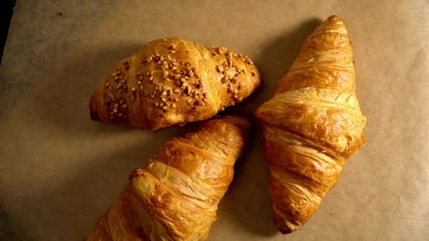 Čerstvé z pekárny French Croissants - foto potravin