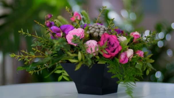 krásná květinová kytice