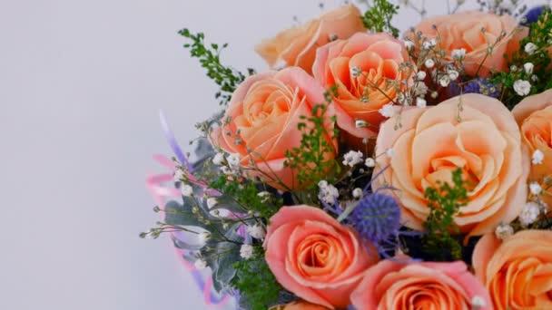 pohlednice, květinový pozdrav