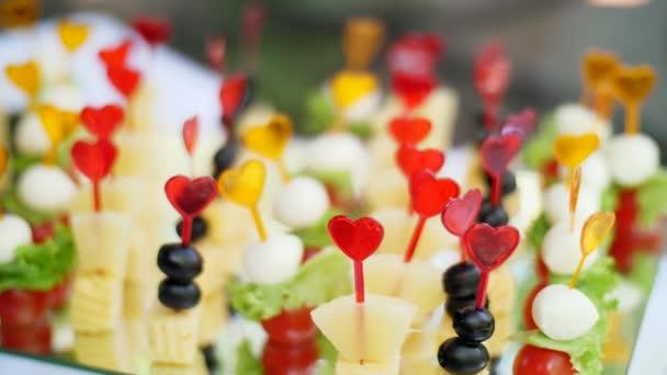 svatební, slavnostní recepce, jednohubky na bufet, občerstvení