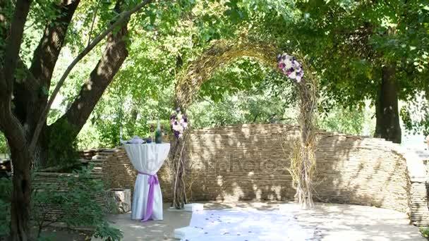 Arco di cerimonia nuziale per la cerimonia di nozze, decorazione wedding,  decorazione della cerimonia del matrimonio, Decorazioni matrimonio fatti da  fiori