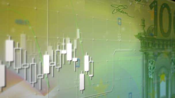 Exchange grafikonok a gyertyák dollár
