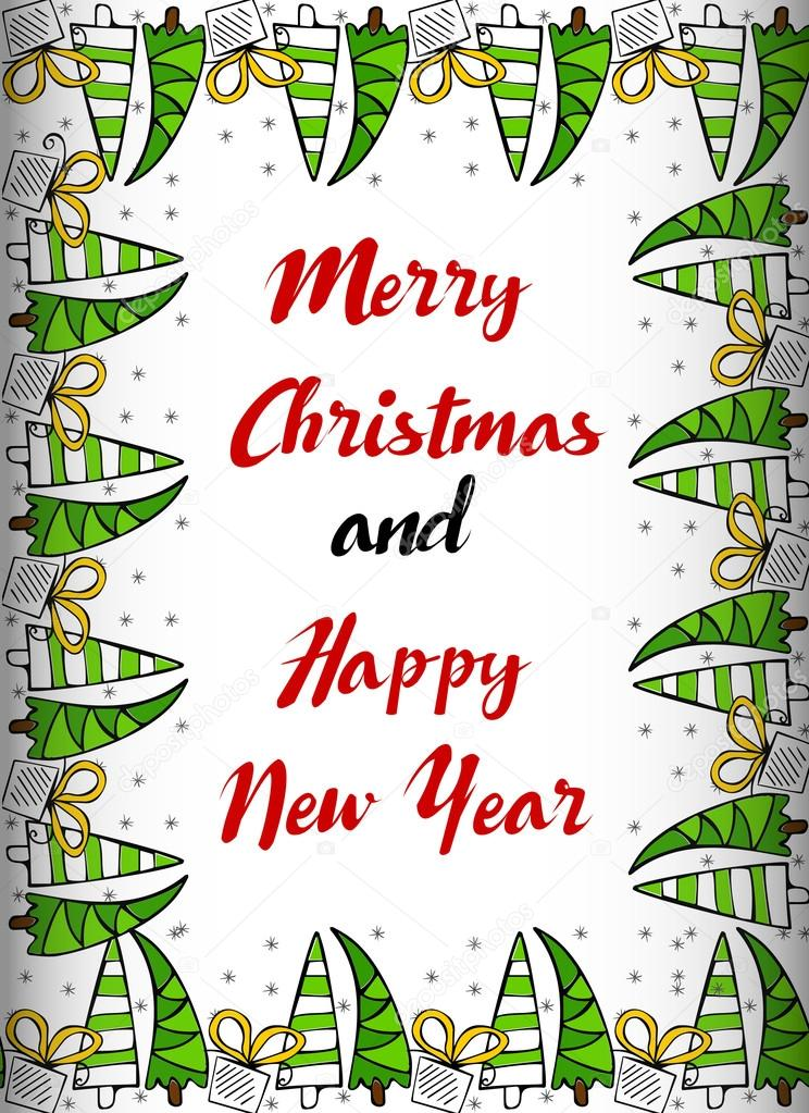 image relating to Printable New Year Cards called Xmas border printable \