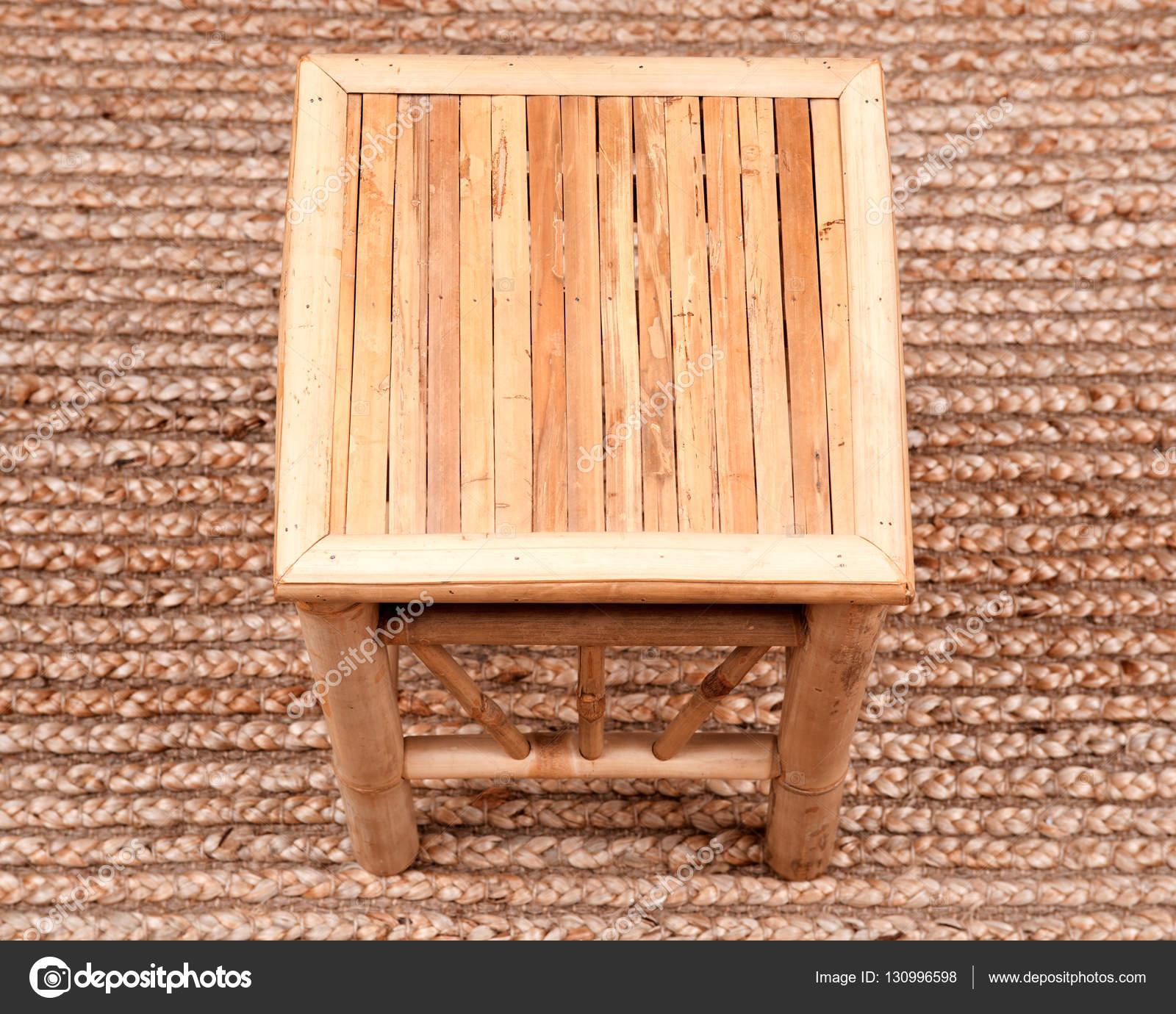 natürlichem bambus stuhl — stockfoto © bjphotographs #130996598