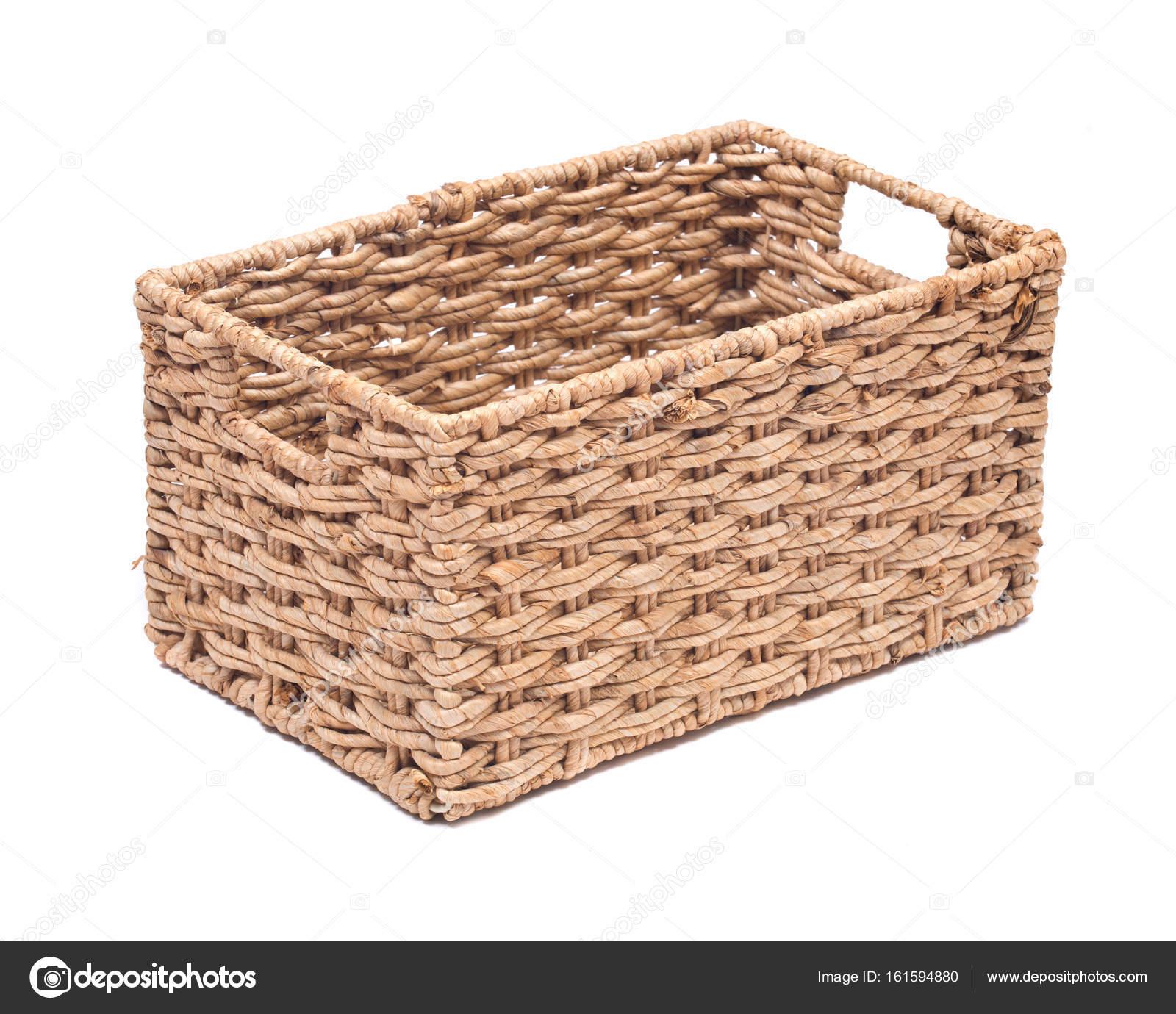 Vintage Seagrass Storage Basket U2014 Stock Photo #161594880