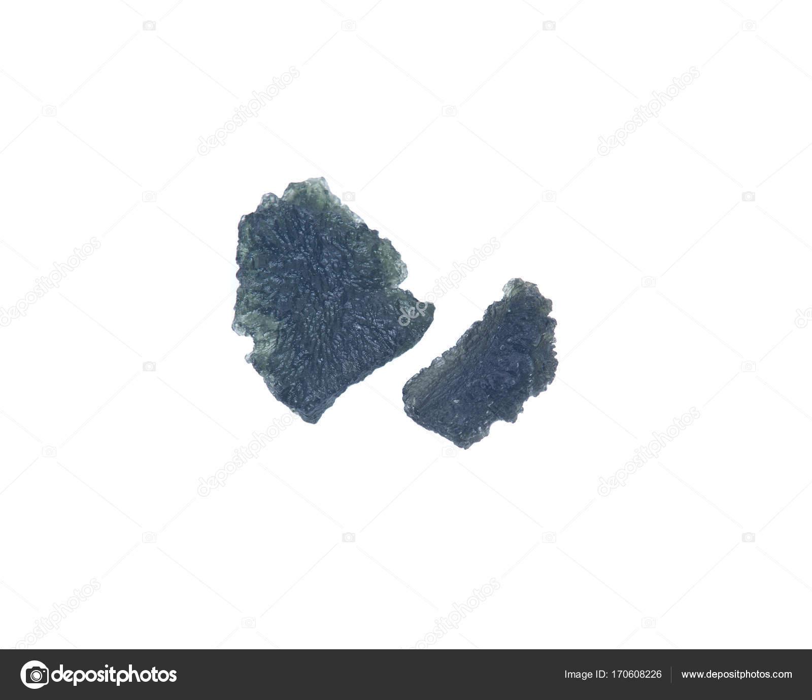 Moldavite (form of tektite found along the banks of the river Moldau
