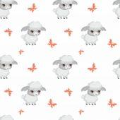 Roztomilý ovce vzor