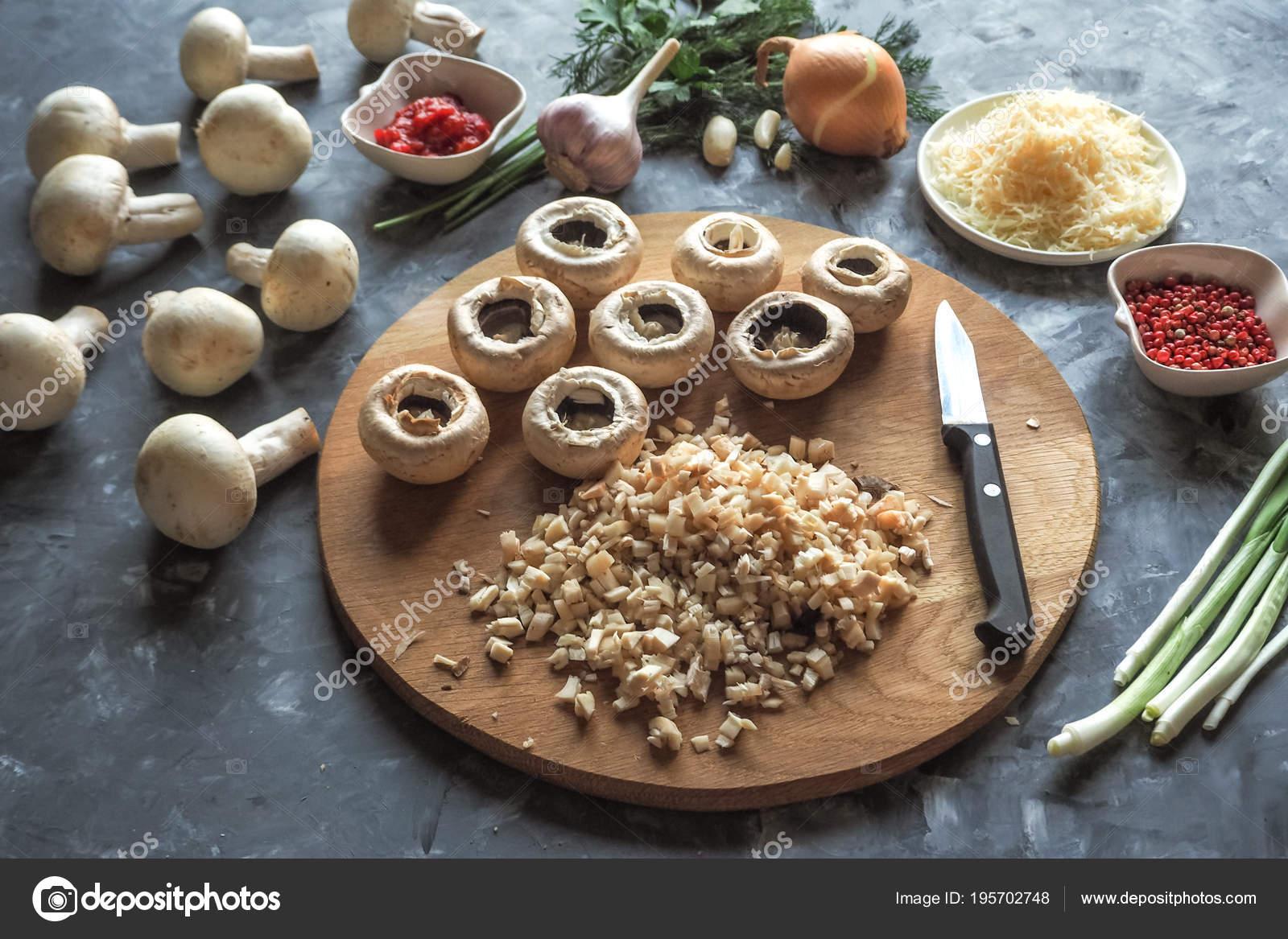 блюда с грибами с фото