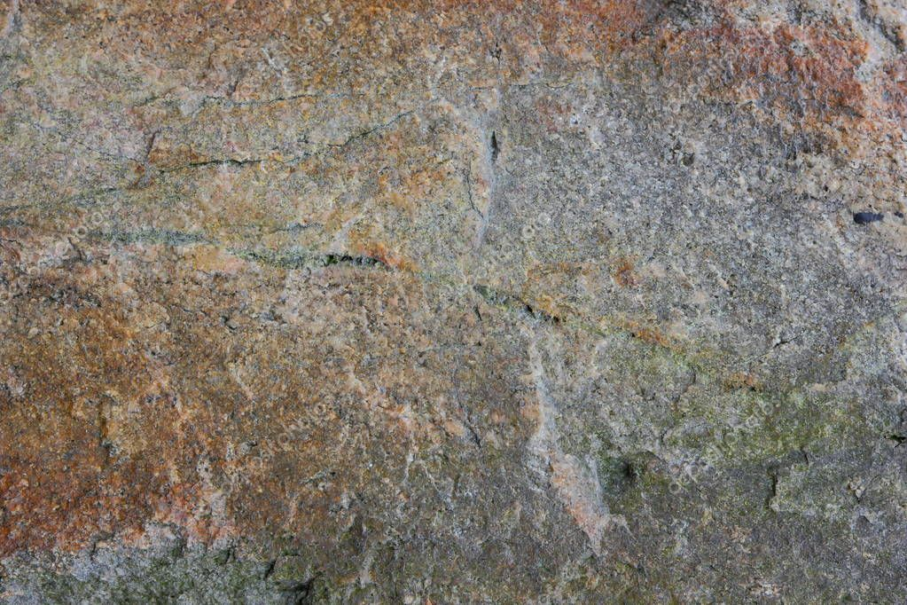 Granite texture, abstract pattern, natural background of granite rock, dark surface of old stone, blank for designer, art