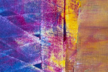 Colorful abstract oil painting background