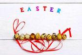 velikonoční vejce složení