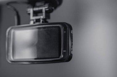 Dash cam, car on board security CCTV.