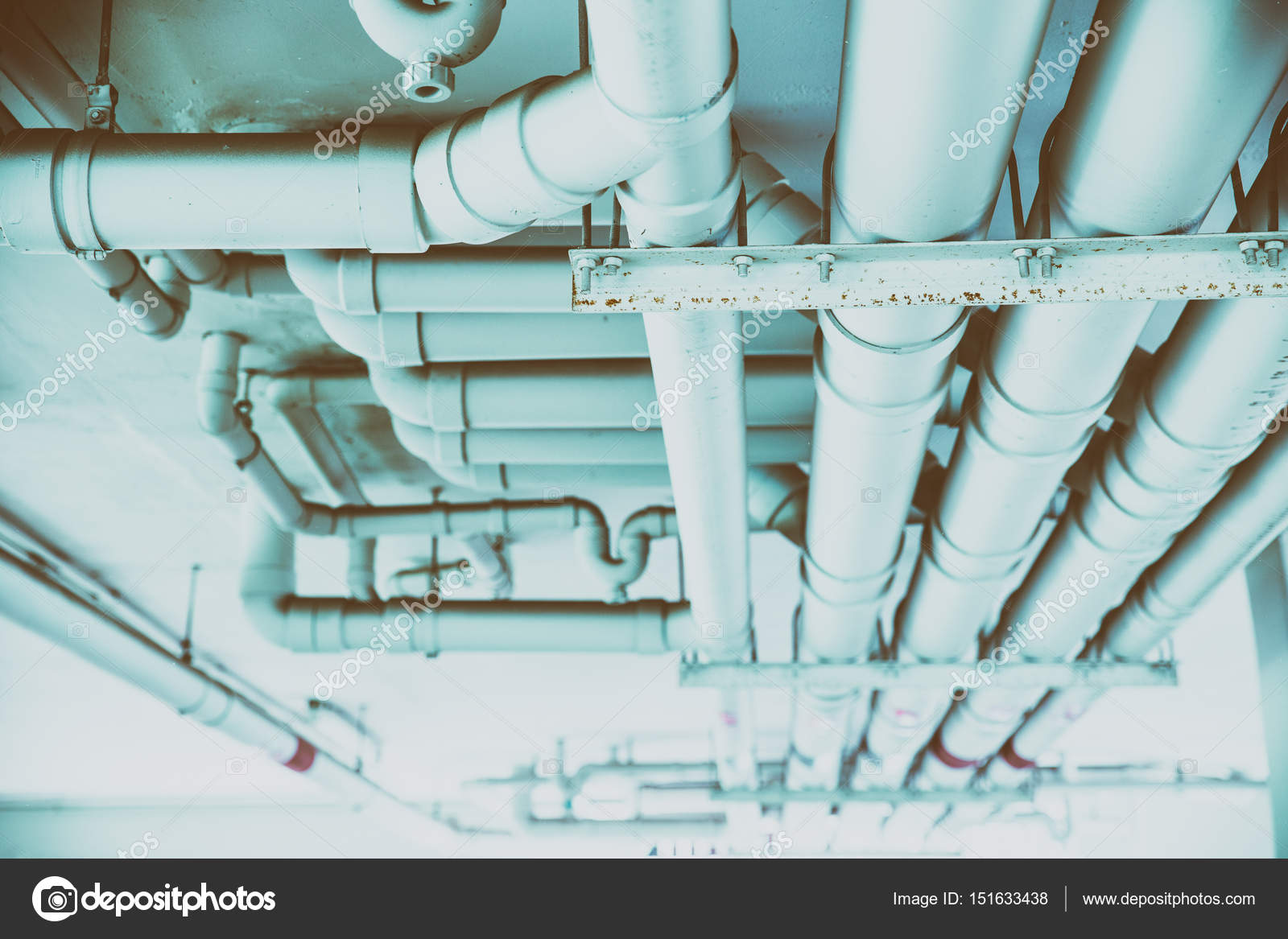 Water pipe engineering, pipeline watering transport system in the ...