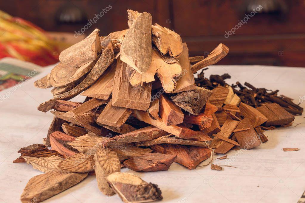Nature Herbal mix wood formula.
