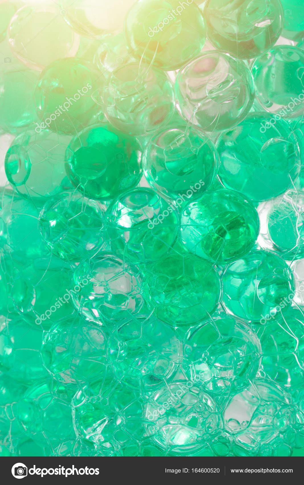 arôme de parfum de polymère de gel couleur vert d'eau froide ballon