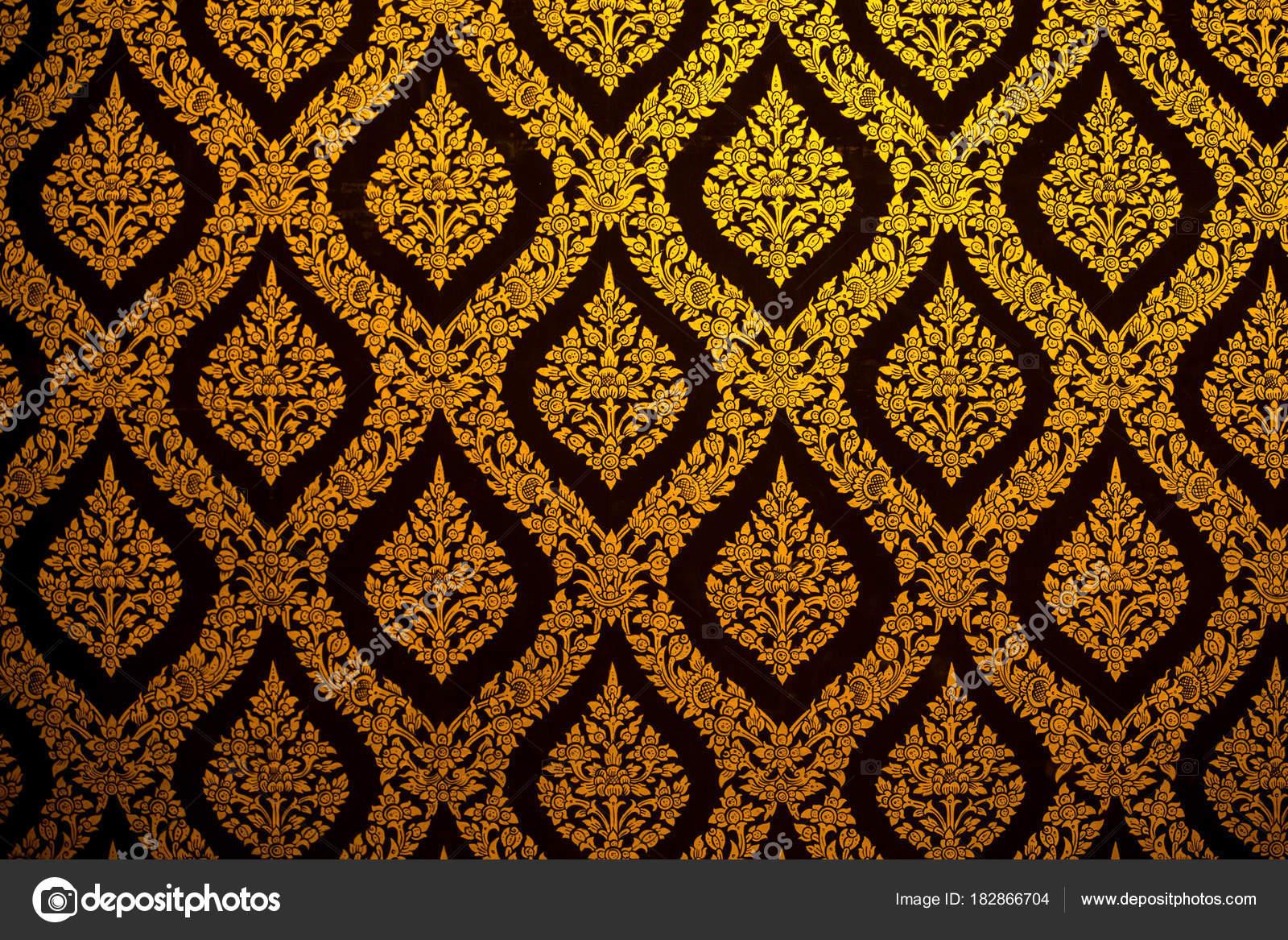 Background Wallpaper Thai Thai Pattern Wallpaper Culture