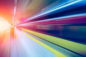 Csökkentené a földalatti vasúti állomás részére nagysebességű üzleti végre és a technológia gyors előre-koncepció