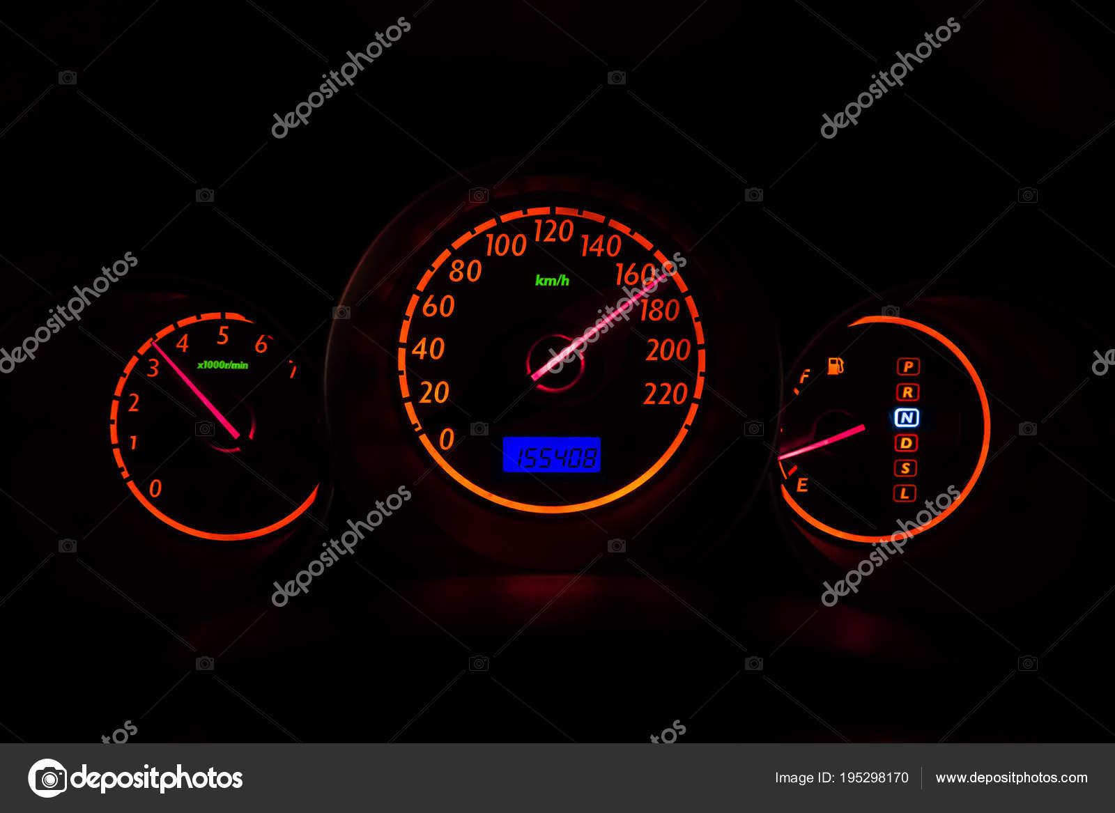 Samochodowy Miernik Wysokiej Prędkości Jazdy Noc Wizja