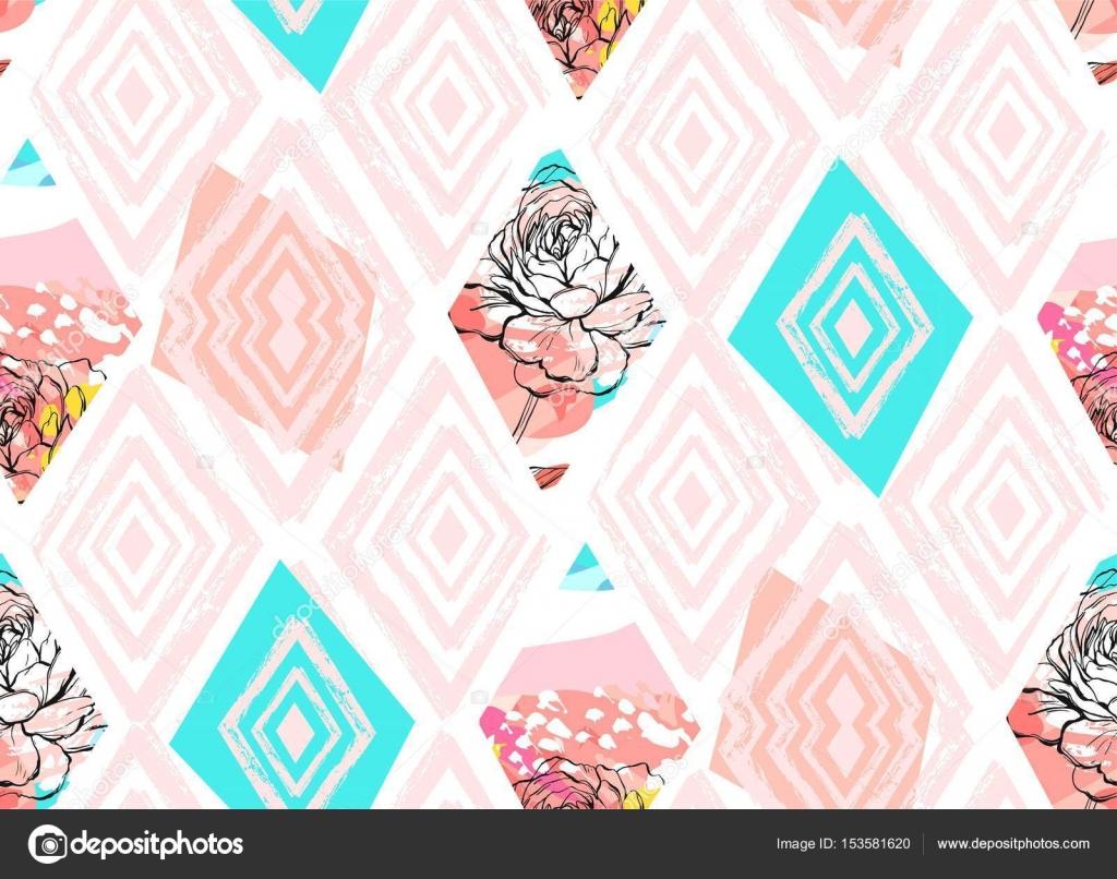 Imágenes: tiffany para colorear | La mano dibujado vector collage ...