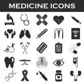 sada ikon medicína