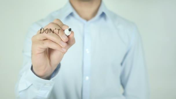 Ne zastavit, když jste unavení, zastavit, když jste hotovi,