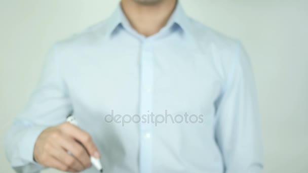 FHA půjčky, muž psaní na obrazovce
