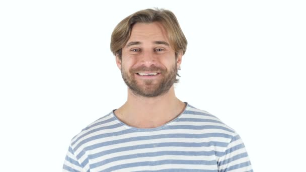 Smiling Man on white Background