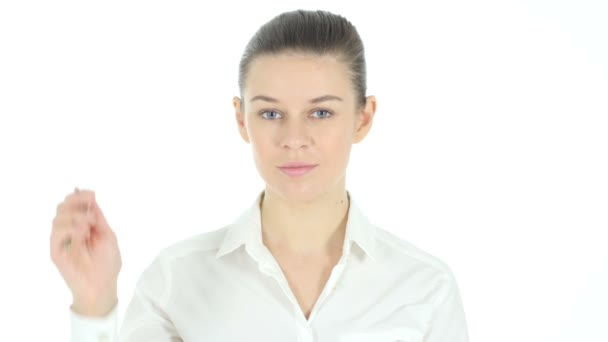 Real Estate Female Agent offering House Keys,