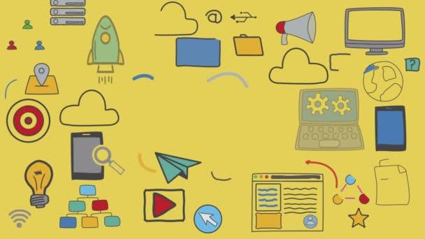 Informační technologie, ilustrační koncepce grafické technologie