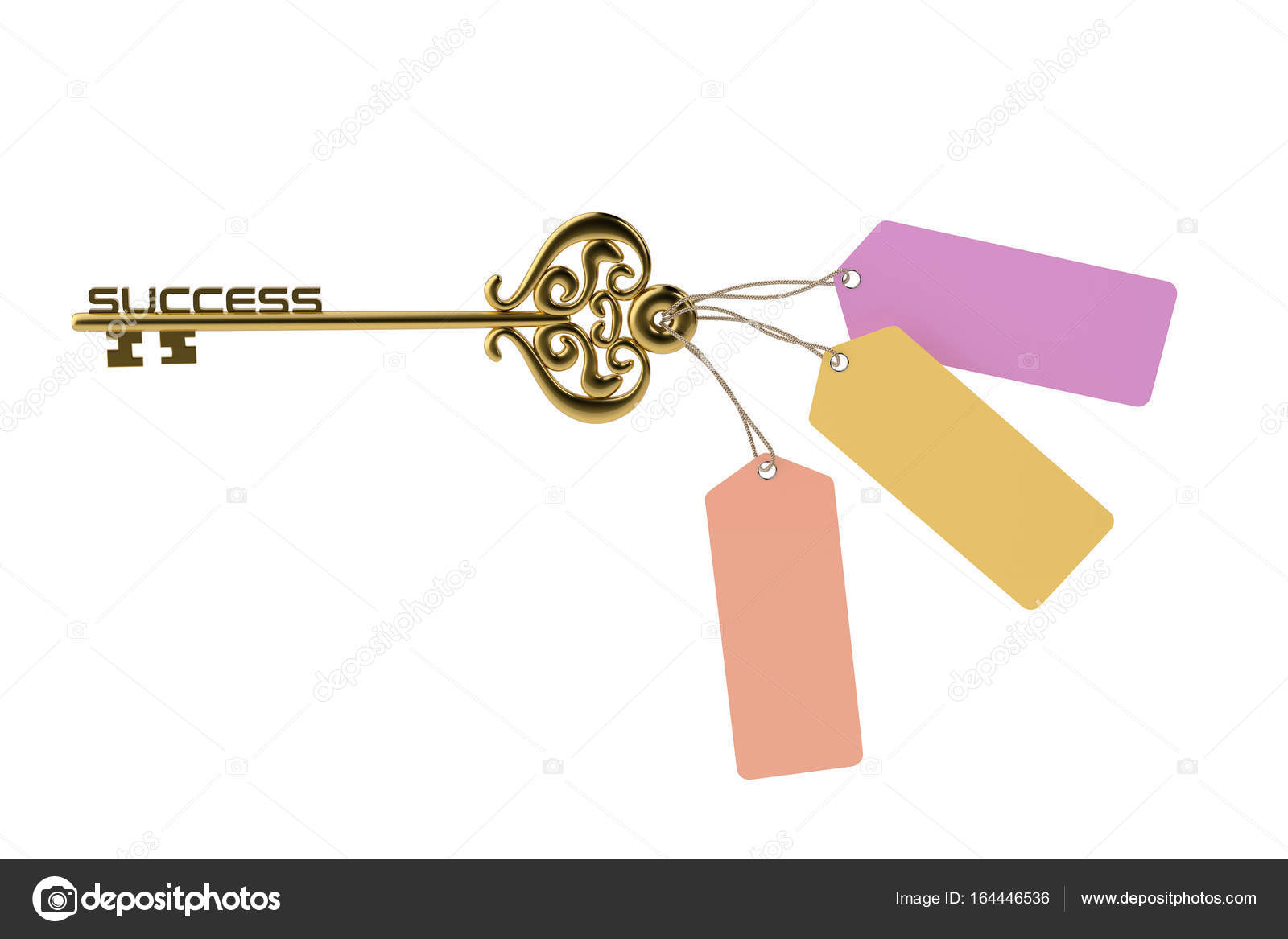 Successful gold key tag illustration stock photo holmessu 164446536 successful gold key tag illustration stock photo ccuart Choice Image